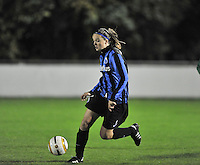 Club Brugge Vrouwen - OHL Dames : Tine De Caigny <br /> foto David Catry / nikonpro.be