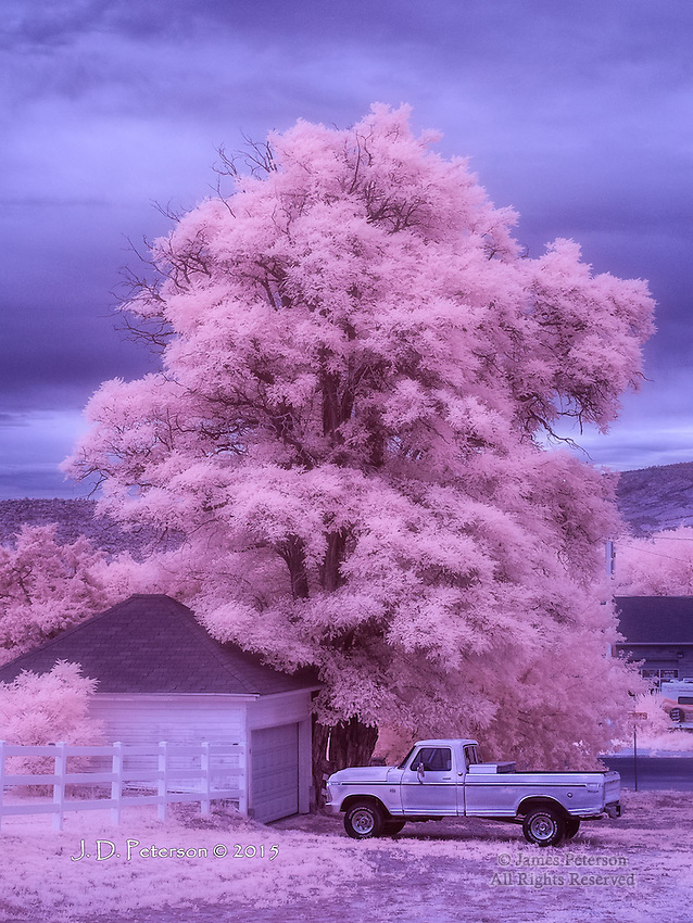 Day's End, Escalante, Utah (Infrared)
