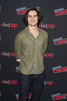"""NEW YORK CITY - OCTOBER 9:  Ben Schnetzer attends a 2021 New York Comic Con event for FX's """"Y: The Last Man"""" at the Javits Center on October 9, 2021 in New York City.  (Photo by Ben Hider/FX//PictureGroup)"""
