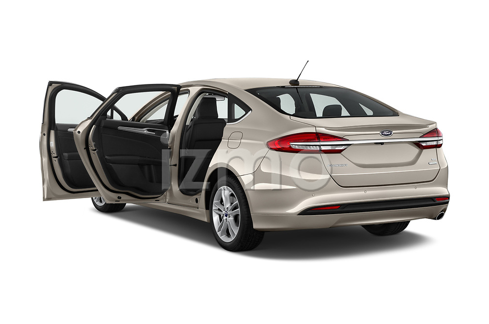 Car images close up view of a 2018 Ford Fusion SE 4 Door Sedan doors
