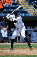 Staten Island Yankees catcher Peter O'Brien (52) during game against the Aberdeen Ironbirds at Richmond County Bank Ballpark at St.George on July 18, 2012 in Staten Island, NY.  Staten Island defeated Aberdeen 3-2.  Tomasso DeRosa/Four Seam Images