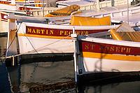 Europe/Provence-Alpes-Côte d'Azur/83/Var/Ile de Porquerolles: Détail pointu au port