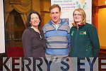 KRSP co-ordinator, Cora Carrigg, cyclist Sean Kelly and Michelle Lane at the official launch of a new cycling programme to encourage more people to take up the sport. .