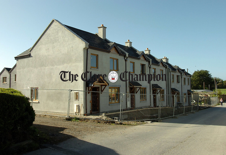 "Residential development ,""The Crossroads"", Killaloe.Pic Arthur Ellis."