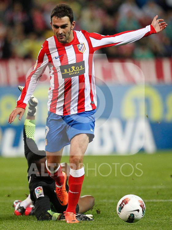 Madrid (05/05/2012).- Estadio Vicente Calderon..Liga BBVA.Atletico de madrid - Malaga Club de Futbol..Kameni, Adrian...Photo: Alex Cid-Fuentes / ALFAQUI..
