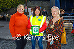 At the Castlemaine Fair in memory of the late John O'Donoghue and as a fundraiser for the Kerry Hospice on Sunday l to r: Mairead Curran (Castlemaine), Eileen Courtney (Milltown) and Kathleen Reidy (Castleisland)
