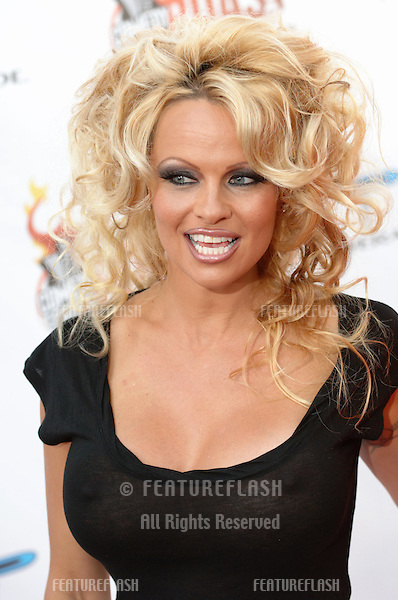 """Actress PAMELA ANDERSON at """"Comedy Central's Roast of Pamela Anderson"""" at Sony Studios, Culver City..August 7, 2005 Culver City, CA.© 2005 Paul Smith / Featureflash"""