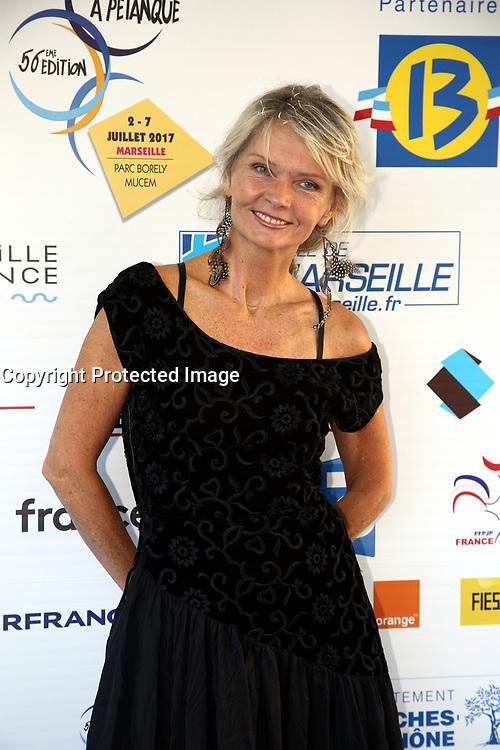 IRKA BOCHENKO - SOIREE DE LANCEMENT DU MONDIAL LA MARSEILLAISE DE PETANQUE A MARSEILLE . FRANCE , 02/07/2017