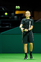 Rotterdam, The Netherlands, Februari 9, 2016,  ABNAMROWTT, Ball-Boy<br /> Photo: Tennisimages/Henk Koster