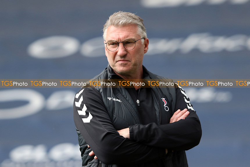 Portrait of Nigel Pearson manager of Bristol City during Millwall vs Bristol City, Sky Bet EFL Championship Football at The Den on 1st May 2021