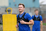 St Johnstone Training....   Liam Craig pictured during training at McDiarmid Park ahead of Saturday's game against Rangers.<br />Picture by Graeme Hart.<br />Copyright Perthshire Picture Agency<br />Tel: 01738 623350  Mobile: 07990 594431