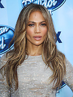 LOS ANGELES, CA, USA - MAY 21: Jennifer Lopez arrives at FOX's 'American Idol' XIII Finale held at Nokia Theatre L.A. Live on May 21, 2014 in Los Angeles, California, United States. (Photo by Celebrity Monitor)