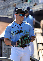 Jarred Kelenic - Seattle Mariners 2021 spring training (Bill Mitchell)