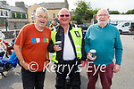 Attending the Kerry Hospice Honda 50 run in Blennerville on Sunday, l to r: Kevin Rice, Richie Dunne and Gerry Murphy
