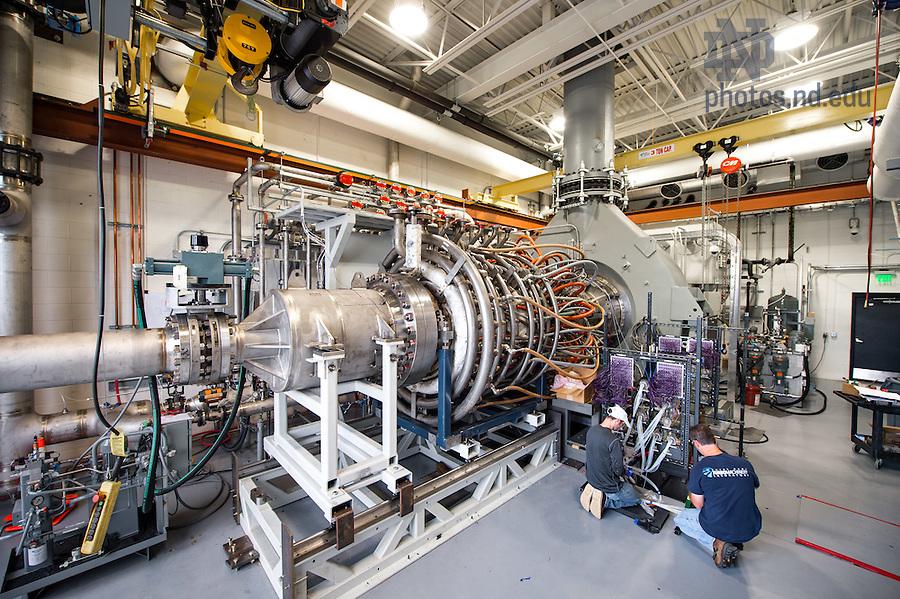 October 3, 2016; Notre Dame Turbomachinery Laboratory (Photo by Matt Cashore/University of Notre Dame)