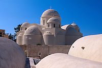 Kirche Agios Stavros in Perissa, Insel Santorin (Santorini), Griechenland, Europa