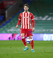 16th March 2021; Cardiff City Stadium, Cardiff, Glamorgan, Wales; English Football League Championship Football, Cardiff City versus Stoke City; Nick Powell of Stoke City