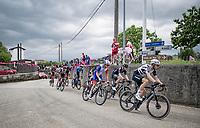 Lukasz Wisniowski (POL/Qhubeka ASSOS) leading the breakaway group<br /> <br /> 104th Giro d'Italia 2021 (2.UWT)<br /> Stage 15 from Grado to Gorizia (147km)<br /> <br /> ©kramon