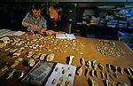 Clovis and pre-Clovis tools; DOH; Gault site; Harry Schaffer; Mike Waters(l); Texas