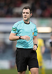 Dundee v St Johnstone….31.12.16     Dens Park    SPFL<br />Referee Don Robertson<br />Picture by Graeme Hart.<br />Copyright Perthshire Picture Agency<br />Tel: 01738 623350  Mobile: 07990 594431