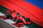 26.09.2020, Sochi Autodrom, Sochi, FORMULA 1 VTB RUSSIAN GRAND PRIX 2020 , im Bild<br /> Sebastian Vettel (GER#5), Scuderia Ferrari<br /> <br /> Foto © nordphoto / Bratic