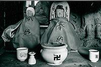 in buddhistischem Tempel in Japan