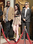 Kristen Stewart attends the  TWILIGHT : Kristen Stewart, Robert Pattinson And Taylor Lautner Hand And Footprint Ceremony held at The Grauman's Chinese Theatre in Hollywood, California on November 3,2011                                                                               © 2011 DVS / Hollywood Press Agency