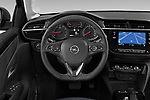 Car pictures of steering wheel view of a 2020 Opel Corsa Elegance 5 Door Hatchback