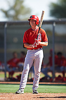 Los Angeles Angels of Anaheim Sam McDonnell (37) during an Instructional League game against the Colorado Rockies on October 6, 2016 at the Tempe Diablo Stadium Complex in Tempe, Arizona.  (Mike Janes/Four Seam Images)