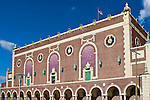 Facade of the historic Convention Hall and Paramount Theatre, Asbury Park, New Jersey