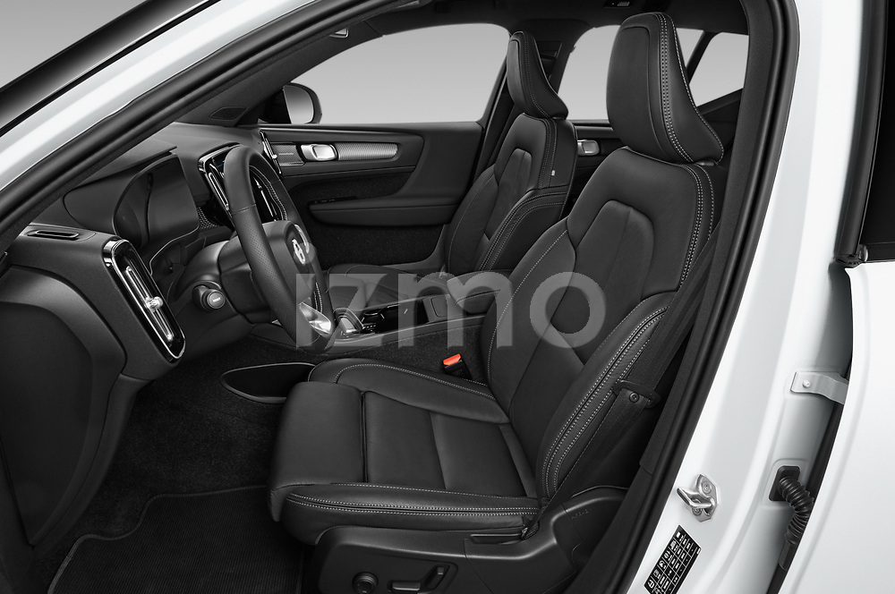 Front seat view of 2021 Volvo XC40-Recharge - 5 Door SUV Front Seat  car photos