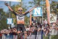 Taco Van der Hoorn (NED/Roompot) wins the 92th Schaal Sels 2017