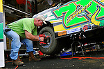 Feb 04, 2010; 3:39:37 PM; Gibsonton, FL., USA; The Lucas Oil Dirt Late Model Racing Series running The 34th Annual Dart WinterNationals at East Bay Raceway Park.  Mandatory Credit: (thesportswire.net)