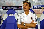 Hiroshi Yoshida Head Coach (JPN), .AUGUST 26, 2012 - Football / Soccer : .FIFA U-20 Women's World Cup Japan 2012, Group A .match between Japan 4-0 Switzerland .at National Stadium, Tokyo, Japan. .(Photo by Daiju Kitamura/AFLO SPORT) [1045]