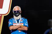 Winner #30: Takuma Sato, Rahal Letterman Lanigan Racing Honda in Victory Lane, podium, team owner David Letterman
