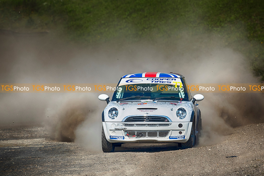 Ben Sayer, BMW Mini during the 5 Nations BRX Championship at Lydden Hill Race Circuit on 31st May 2021