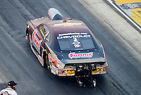Jun. 29, 2012; Joliet, IL, USA: NHRA pro stock driver Greg Anderson during qualifying for the Route 66 Nationals at Route 66 Raceway. Mandatory Credit: Mark J. Rebilas-