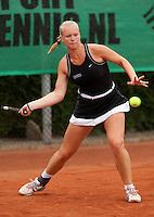 12-8-09, Den Bosch,Nationale Tennis Kampioenschappen, 1e ronde,     Kiki Bertens