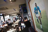 Europe/France/Provence-Alpes-Côte d'Azur/13/Bouches-du-Rhône/Marseille: La Brasserie de l'OM, 25, quai des Belges [(Photo d'Archive: 2008)