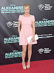 Charlotte Ross attends The Disney World Premiere of Alexander and the Terrible,Horrible,No Good, Very Bad held at The El Capitan  in Hollywood, California on October 06,2014                                                                               © 2014 Hollywood Press Agency