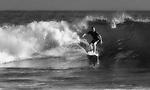 Surfer (b&w), Crystal Cove, CA