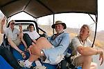 Heading To Cariba Dam In Truck