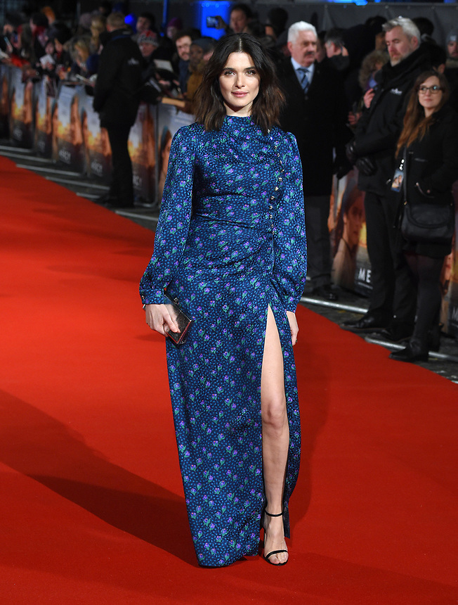 "Rachel Weisz<br /> arriving for the premiere of ""The Mercy"" at the Curzon Mayfair, London<br /> <br /> <br /> ©Ash Knotek  D3375  06/02/2018"