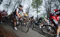 Fabian Cancellara (CHE/TrekFactoryRacing) on top of the Kanarieberg<br /> <br /> Ronde van Vlaanderen 2014