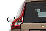 Tail light close up detail view of a 2009 Volvo XC 60