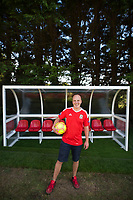 "COPY BY TOM BEDFORD<br /> Pictured: Matt Evans in his back garden at his house in south Wales, UK<br /> Re: A soccer-mad lottery millionaire has splashed out on his own football pitch complete with a dug-out on the touchline.<br /> Former postman Matt Evans 37, turned his back garden into a mini soccer stadium so his mates can come for a kick about.<br /> The super-rich bachelor is blowing his fortune on his love for the beautiful game.<br /> He said: ""I'm living the dream by having my own pitch with lifesize goals and all the white markings.<br /> ""I invite my old workmates around for a game and we sit in the dugout to talk about football.<br /> ""My dad comes along for a game but we usually ask him to play in goal.""<br /> Matt was a £300-a-week postman three years ago using jumpers for goalposts in his local park.<br /> But after a lottery lucky dip netted him £2,604,015 he's living the life of a Premiership soccer star."