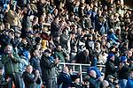 St Johnstone v Hamilton Accies…26.10.19   McDiarmid Park   SPFL<br />Happy saints fans applud the players<br />Picture by Graeme Hart.<br />Copyright Perthshire Picture Agency<br />Tel: 01738 623350  Mobile: 07990 594431