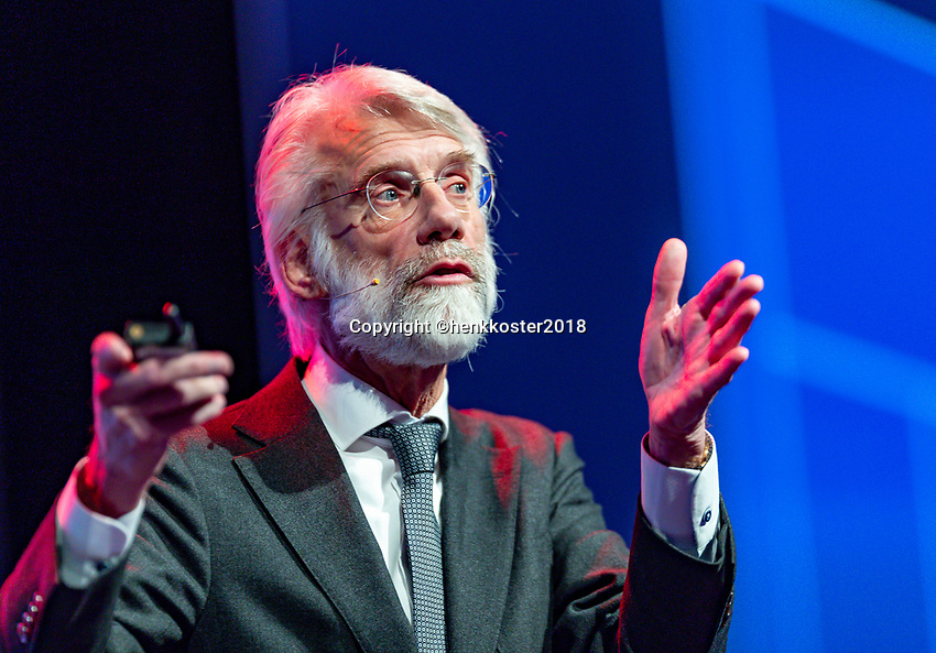Nieuwegein,  Netherlands, 24 November 2018, KNLTB Year congress KNLTB, Erik Scherder<br /> Photo: Tennisimages.com/Henk Koster