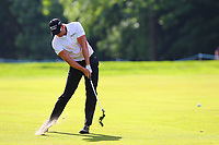 Henrik Stenson on the 17th fairway during the BMW PGA Golf Championship at Wentworth Golf Course, Wentworth Drive, Virginia Water, England on 27 May 2017. Photo by Steve McCarthy/PRiME Media Images.