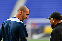 Harrison, NJ - Friday July 07, 2017: Milan Borjan,  during a 2017 CONCACAF Gold Cup Group A match between the men's national teams of French Guiana (GUF) and Canada (CAN) at Red Bull Arena.